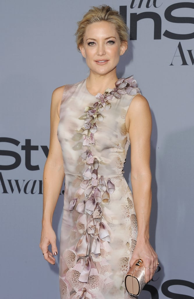 Kate Hudson S Floral Dress At Instyle Awards Popsugar