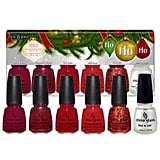 China Glaze Ho, Ho, Ho 6 Piece Collection
