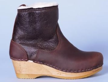 If you live somewhere where it snows or rains in the Winter, you will want these boots. Despite being made of supple leather and wood, the No. 6 Shearling Boots ($390) are practically indestructible and will help you wade through slush and snow while still looking stylish. 