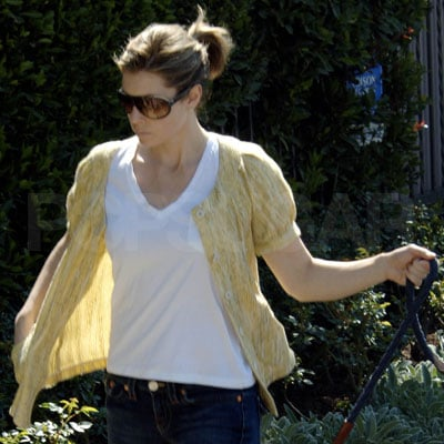 Jessica Biel Dyes Her Hair Brown