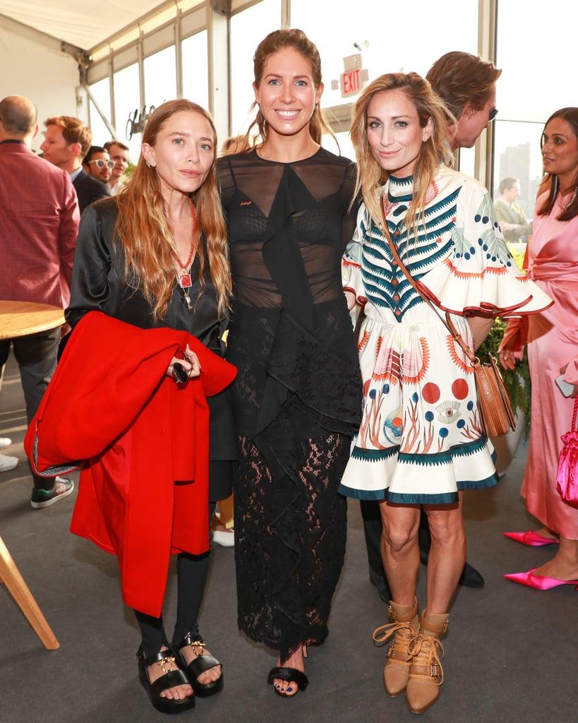 Mary-Kate Olsen Platform Sandals