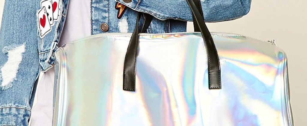 Um, What? This Shimmery Fairidescent Travel Bag Is Only $28!