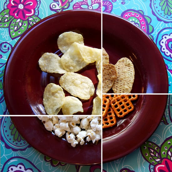 100 Calories of Salty Snacks Like Chips
