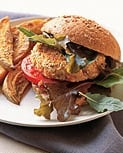 Monday's Leftovers: Salmon Burgers