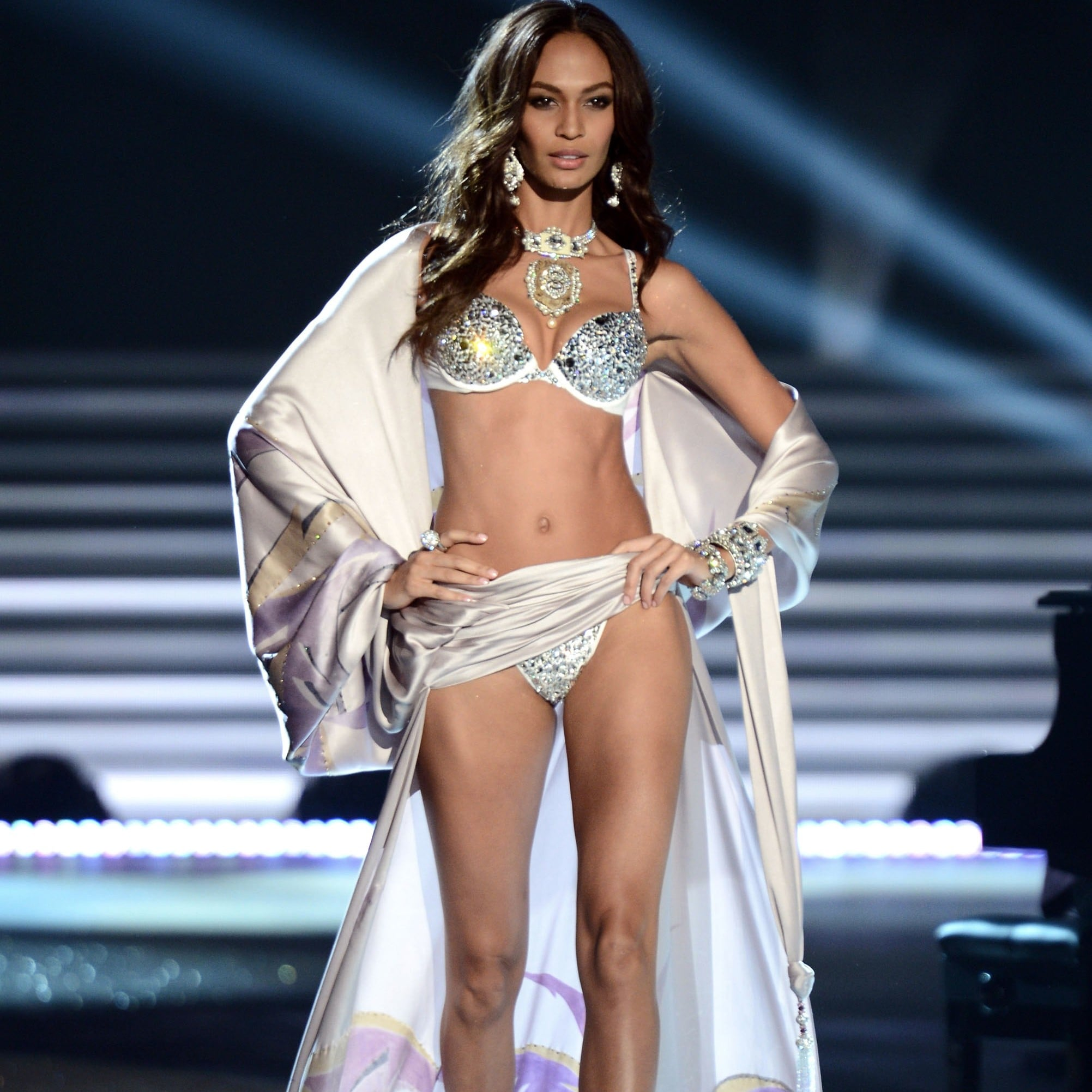 8706c7fad11 Joan Smalls s Sexiest Victoria s Secret Looks