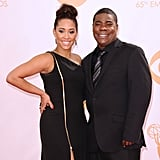 Tracy Morgan and Megan Wollover