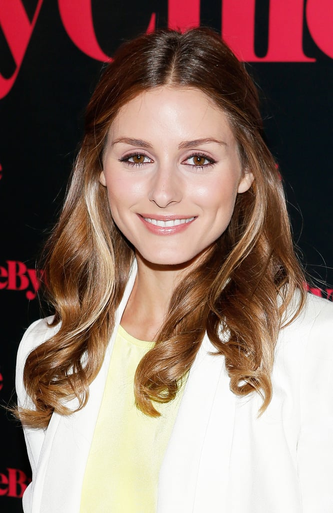 Out at the launch party for the See by Chloé fragrance, Olivia Palermo went with her signature waves with side pieces pinned back behind her ears.