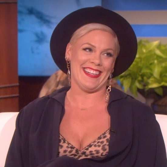 Pink on The Ellen DeGeneres Show February 2019