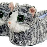 Fuzzy Animal Cat Plush Soft Slippers
