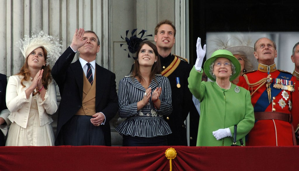 He Attended Trooping the Colour With His Family