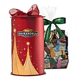 Satisfy her sweet tooth with the Ghirardelli red and gold cylinder box ($32), which includes 80 chocolate squares in the brand's most popular flavors.