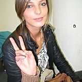 A natural looking Daria Webowy wants peace for all.