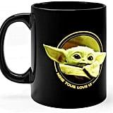 Cute Baby Yoda Mug