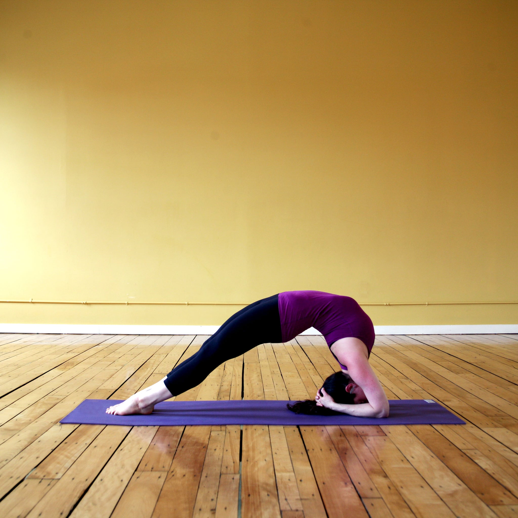 Two-Legged Inverted Staff Pose