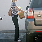 Newly Single January Jones Steps Out For Shopping in LA