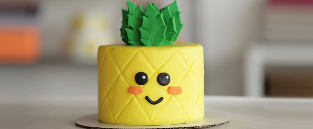 Watch This Cake Transform Into an Adorable Pineapple
