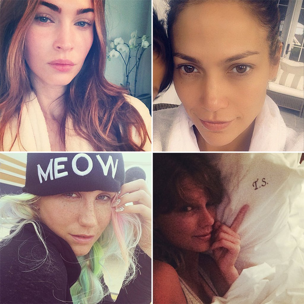 Gigi Hadid and More Celebrities Embrace the Makeup-Free Selfie