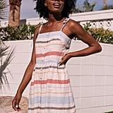 Gal Meets Glam Collection Hattie Stripe Linen Blend Sundress