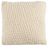 Beekman 1802 Sangerfield Crochet Square Throw Pillow in Natural ($80)