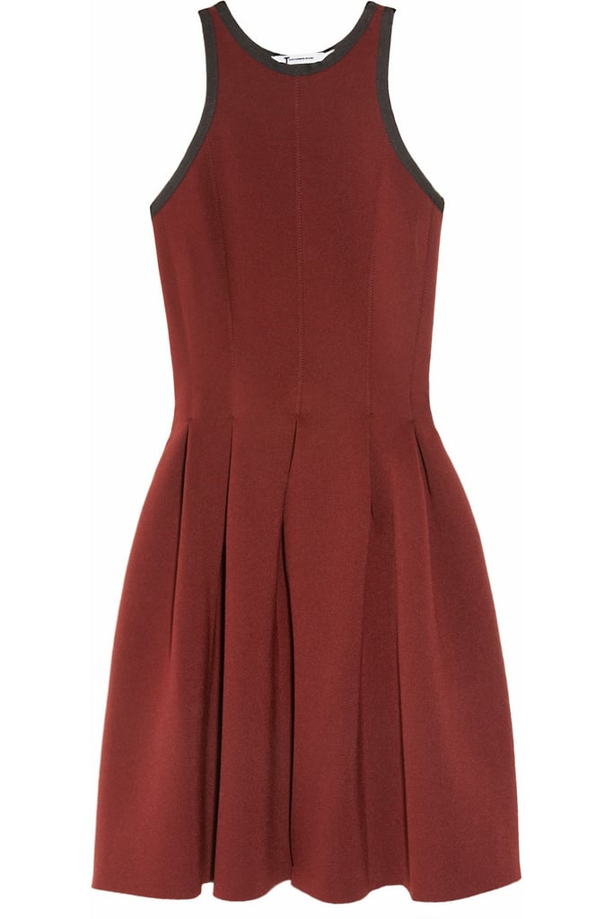 T by Alexander Wang Red Neoprene Pleated Dress ($65, originally $325)