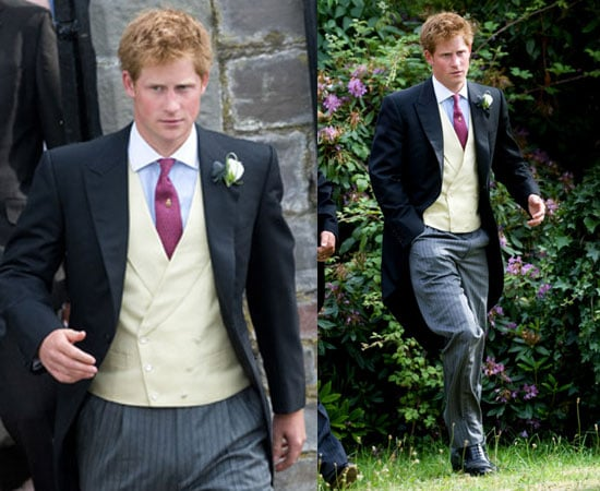 Prince Harry at His Friend's Wedding After Wireless Festival