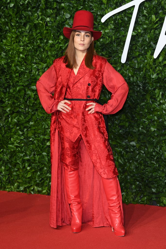 Noomi Rapace at the British Fashion Awards 2019