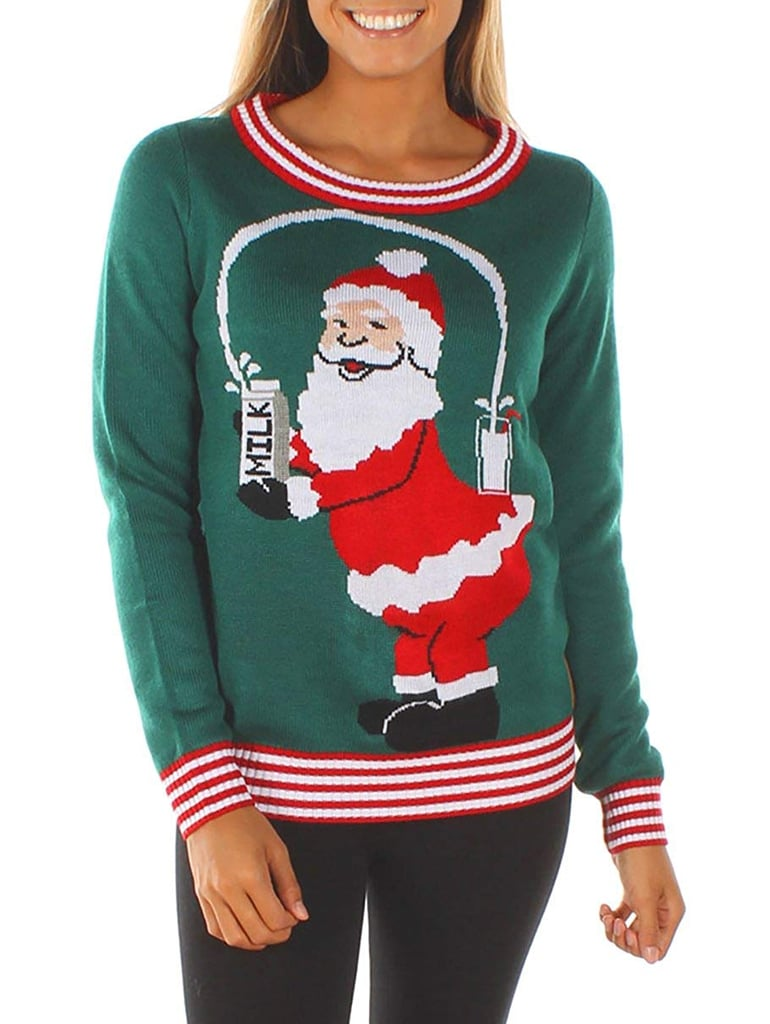 Break The Internet Ugly Christmas Sweater Funny Ugly Christmas