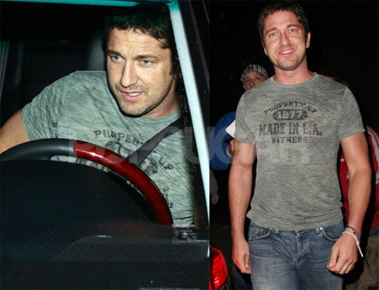 Photos of Gerard Butler in LA