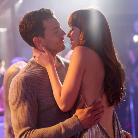 Pictures of Ana and Christian in the Fifty Shades Movies