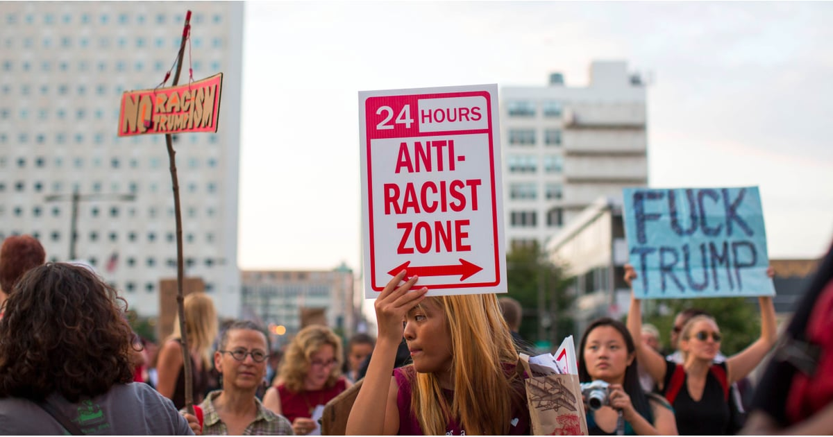 PopsugarCultureDonald TrumpTech Companies Banning White Supremacists14 Tech Companies Trying to Ban Hate Groups and White SupremacistsAugust 19, 2017 by Ann-Marie AlcántaraFirst Published: August 17, 2017104 SharesChat with us on Facebook Messenger. Learn what's trending across POPSUGAR.Disavowing and distancing yourself from white supremacy and neo-Nazi individuals and groups isn't hard. But until the events in Charlottesville, VA, many tech companies didn't make it a priority to remove such people and groups from their platforms. Since neo-Nazis and white supremacists rallied in Charlottesville, though, leaving three dead, tech companies like Spotify, OkCupid, Google, and CloudFlare are taking a stand. GoDaddy, which used to host the domain for neo-Nazi site Daily Stormer, dropped the site from its servers earlier this week. The site then moved over to Google, only to have Google do the same. Other companies are joining in and taking similar actions, such as:Wordpress no longer supports Vanguard America, a - 웹