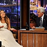Jessica Alba shared a story with the audience.