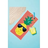 Pineapple Beach Towel Orange