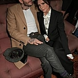 David and Victoria Beckham at the Victoria Beckham x YouTube Party