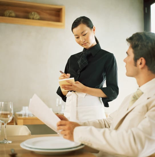 Do You Ask Servers For Menu Recommendations?