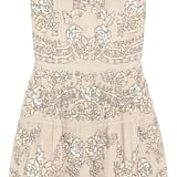 Needle & Thread Etch Lace Embellished Chiffon Mini Dress  ($550)