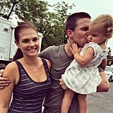 "Stephen had his arm around his wife as he kissed their daughter in June 2015, writing, ""What a tremendous treat it was to have my two ladies with me in New York for the past month. For a brief snippet in time, they were absolute New Yorkers. I'm awfully lucky."""