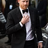 April 2019: Prince Harry at the London Premiere of Our Planet