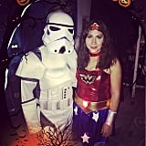 Stormtrooper and Wonder Woman