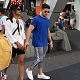 Priyanka Chopra's Sneakers at Disney World August 2019