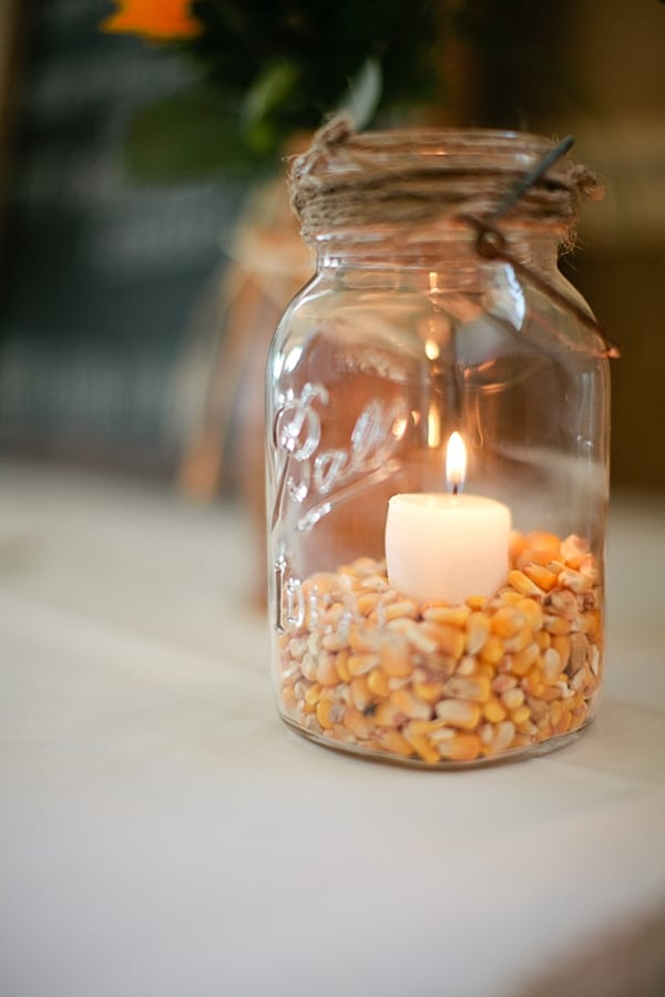 Corn and Candles