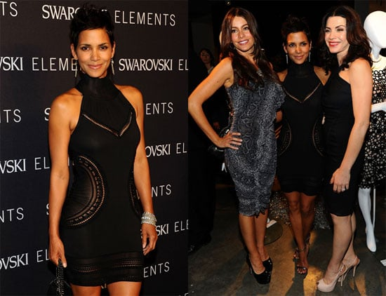 Pictures of Halle Berry, Sofia Vergara, and Julianna Margulies at a Swarovski Charity Event in NYC