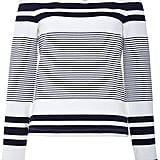 Rosetta Getty Off the Shoulder Sailor Striped Top ($780)
