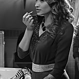 """Emily Fields (Shay Mitchell) gets dolled up in """"Shadow Play."""" Source: ABC Family"""