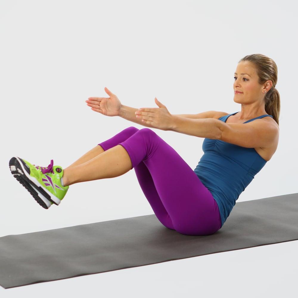 Quick Ab Workout | POPSUGAR Fitness Australia