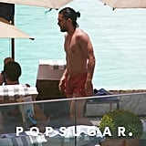 Kit Harington Shirtless by the Pool in Brazil Pictures