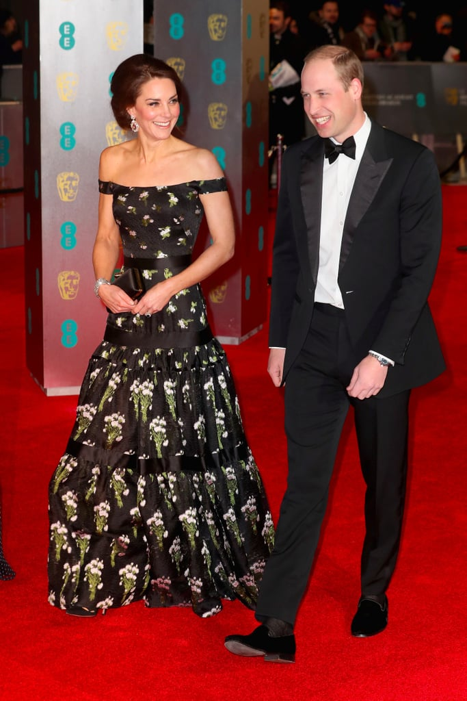 Celebrity Couples at the BAFTA Awards 2017
