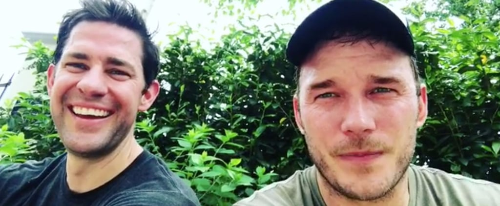 Chris Pratt and John Krasinski Get All Hot and Sweaty Together For a Good Cause