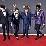 Stranger Things Cast at the 2017 Emmys