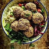 Paleo Sesame Meatball and Cauliflower Rice Bowl