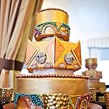 Diamonds and Pearls Wedding Cake